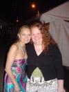 Chenoweth!  It was definatley strange meeting her!