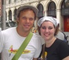 Dirty Rotten Scoundrel... Norbert Leo Butz and I.