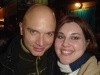 Michael Cerveris and I after Sweeney Todd