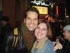 J. Robert Spencer and I after Jersey Boys.