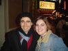 John Lloyd Young and I after Jersey Boys