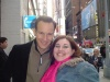 Patrick Wilson and I after Barefoot in the Park (note this was the 4th time I have met this very talented man)