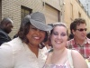 Felcia P. Fields and I after Color Purple.