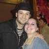 Drew Sarich and I after Les Miz.