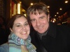 Gary Beach and I after Les Miz... round 2.