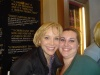 Charlotte d'Amboise and I after Chorus Line.