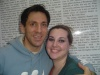 Michael Berresse and I after Chorus Line.