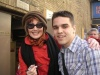 Me with JOANNA GLEASON! (After her final performance)