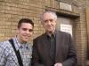 Me with JONATHAN PRYCE!