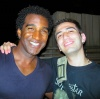 Norm Lewis after TWO GENTLEMEN OF VERONA 8/21/05