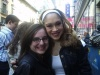Diana DeGarmo after a matinee of