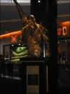 Freddie Statue in foyer of 'We Will Rock You' at the Lyric theatre in Sydney - 30.01.05
