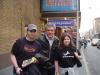Me and my sister and Greg Jbara