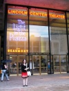 Me outside the Lincoln Center before seeing 'The Light in the Piazza' - 7/5/05
