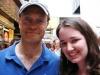 David Hyde Pierce and I after 'Spamalot' - 7/6/05