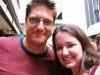 Christopher Sieber and I after a performance of 'Spamalot' - 7/6/05