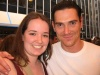Me with Billy Crudup outside the stage door of the Booth Theatre, where he was performing in 'The Pillowman' - we didn't see the show :) but we saw him and got a picture