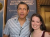 Me with the... interesting... Jeff Goldblum ;) after 'The Pillowman'
