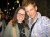Me with Chad Kimball (one of the many Johns in 'Lennon') outside the Broadhurst stage door - 7/8/05