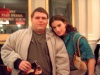 A picture of Idina Menzel and myself after the October 20 performance of See What I Wanna See.