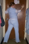 Halloween '04.  J. Lo (complete with booty)