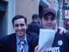 Another shot of me and John Lloyd Young