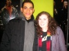 Justin Johnston and Me after RENT