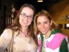 Me and Kerry Butler in the lobby of the theatre where her musical 'The Opposite of Sex' premiered in SF - Oct '04