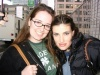 Idina Menzel and I in SF while she was filming 'Rent' - March '04