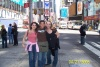 Me (in the middle) with my friends in Times Square