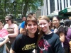 Beth Leavel and me after Broadway in Bryant Park on Thursday July 13, 2006.