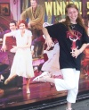 How cool am I? I'm dancing with Sutton Foster in