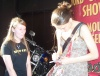 She's signing my Drowsy CD