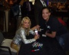 Me with Kristin Chenoweth!!! (The water bottle she's holding in her hand, I made that for her and called it Cheno Water.)