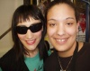 Me with Eden Espinosa after Brooklyn on 4.17.05