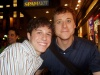 Me and Alan Tudyk at the SpamAlot stage door