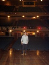 Me on the Shubert Theater Stage after SpamAlot! Thanks John Bolton for getting me on Broadway!