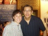 Me and Jeff Goldblum at the Booth Theater stage door