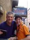 Me and Greg Jbara