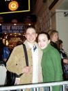 Me and Julie Hanson from Phantom (Christine).