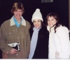 Myself, my Friend Alessia and Jenna Lee Green afater her great performace as Nessa at a priview of Wicked.