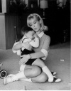Barbara Eden and son Matthew.