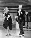 My favortie on-screen couple, who made some of the funniest and wonderful films of all time,... Fred Astaire & Ginger Rogers