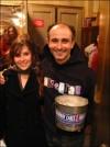 After Hairspray - Stephen DeRosa and I NY Dec. 4