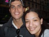This is me with Cheyenne Jackson, who is sooo gorgeous and a great singer.