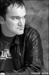 One of my inspirations... Quentin Tarantino. He's just the coolest.