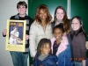 my group of friends and I with Tonya Pinkins (and her adorable kids!) in SF after the first touring preview of 'Caroline, or Change' :)