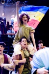 me as Little Sally in Urinetown at school last fall