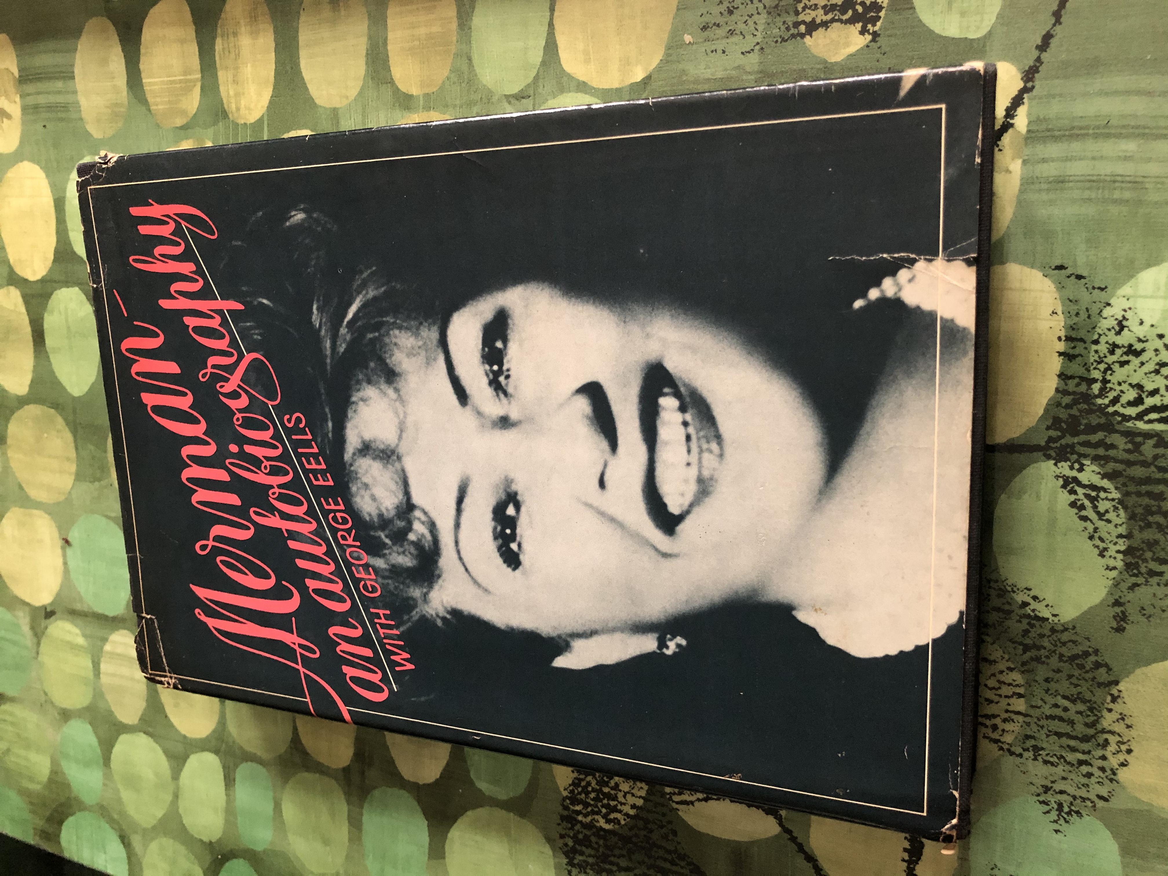 Signed Ethel Merman Autobiography