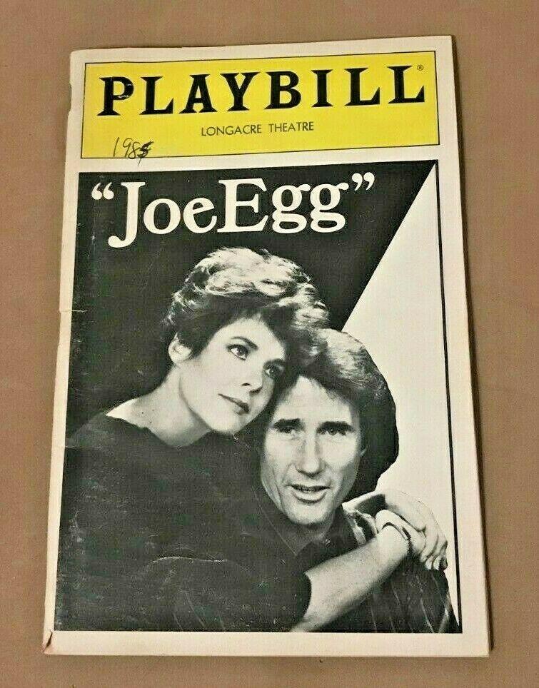 Broadway Opening Night Playbill- Joe Egg. March 27, 1985
